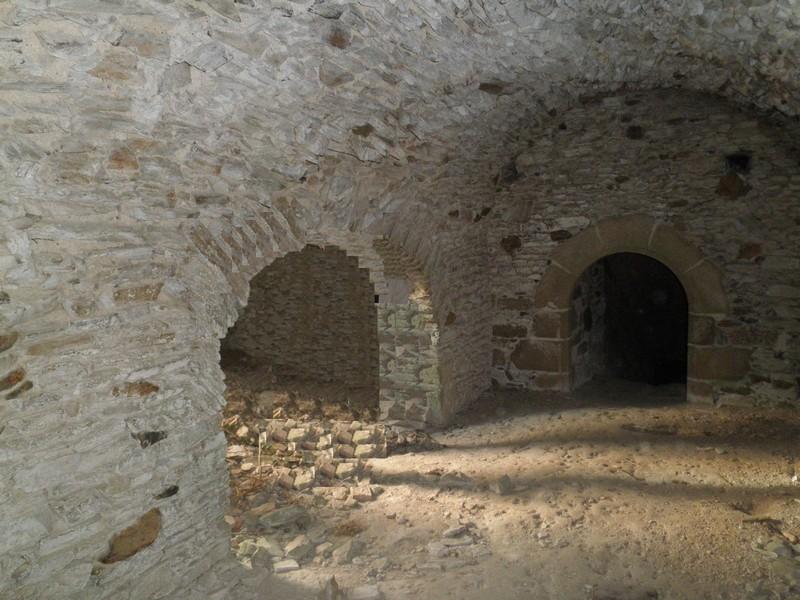 Accès au second niveau souterrain