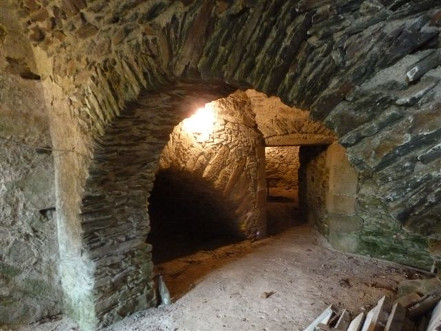 Couloir d'accès au donjon