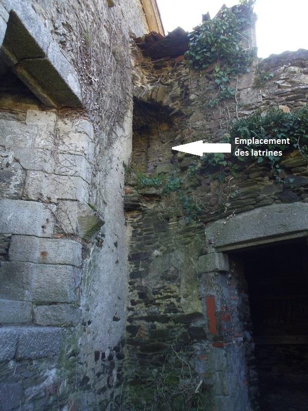 Vestiges des latrines