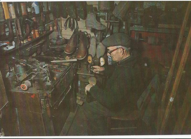 Mr BROSSARD le cordonnier de Pugny