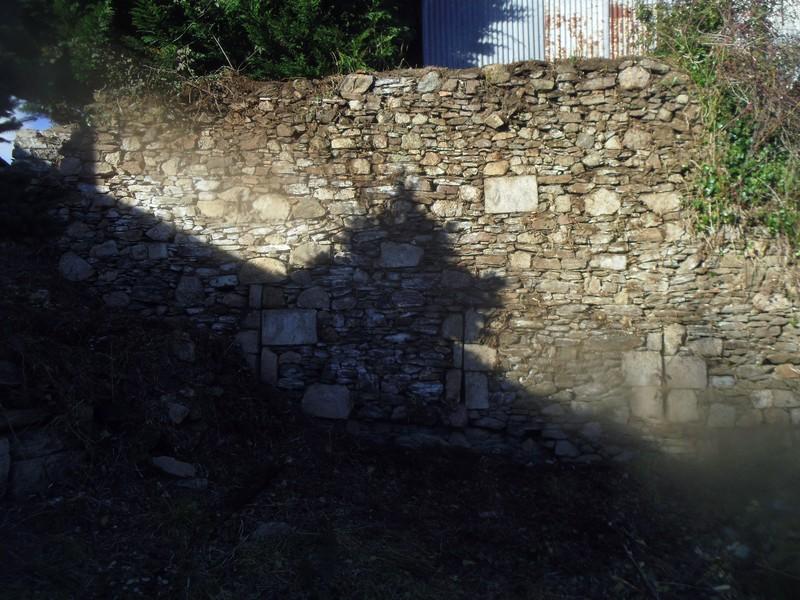 muraille sud ouest à nue