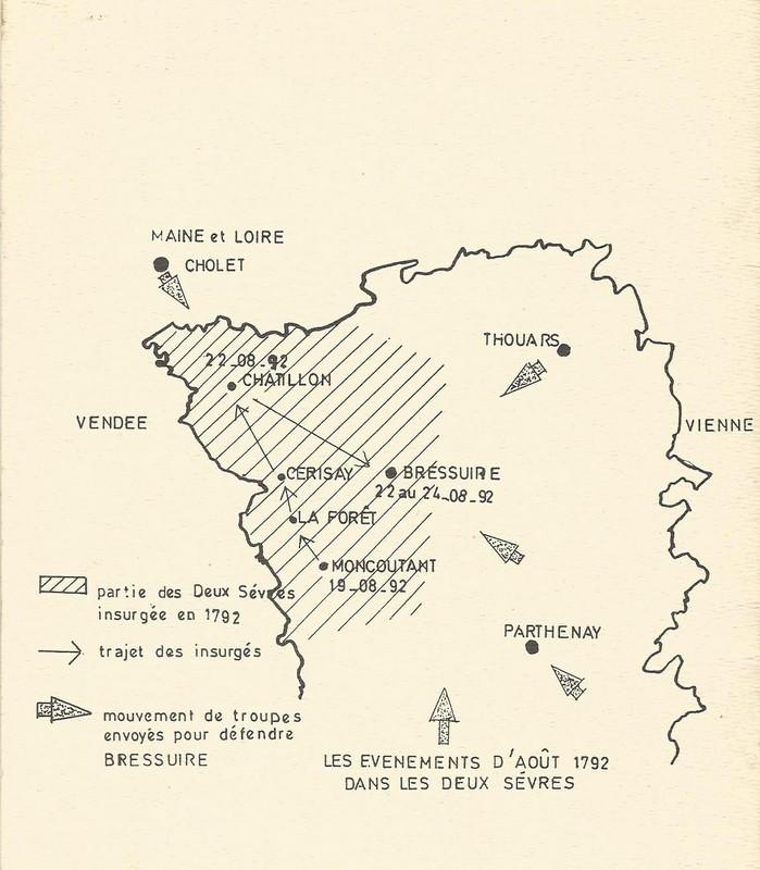 le soulèvement d'Août 1792
