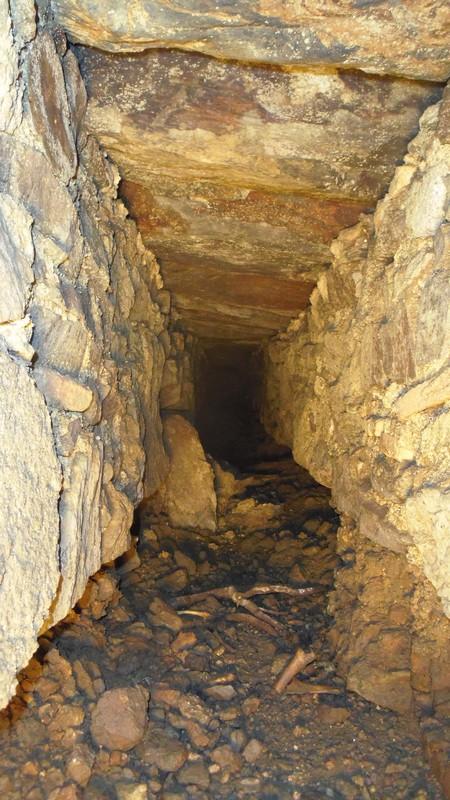 tunnel d'évacuation