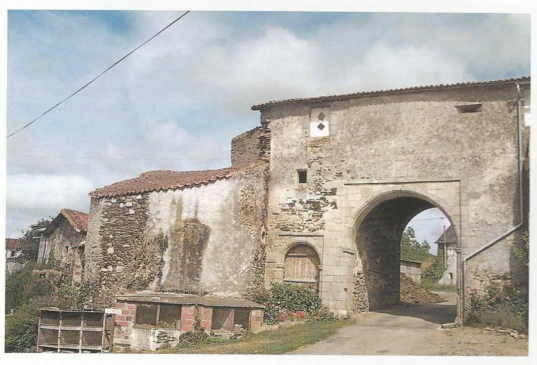 le château : l'entrée